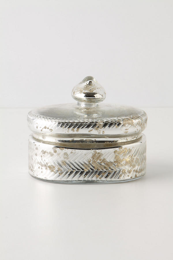 Mercury Trinket Box, Oval