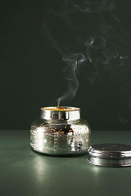 Slide View: 1: Capri Blue Volcano Iridescent Jar Candle