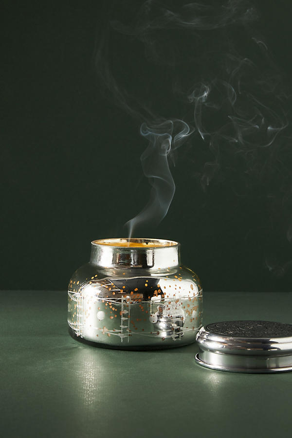 Slide View: 1: Capri Blue Iridescent Jar Candle