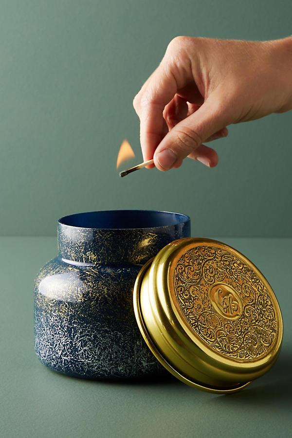 Slide View: 1: Capri Blue Iridescent Jar Candle