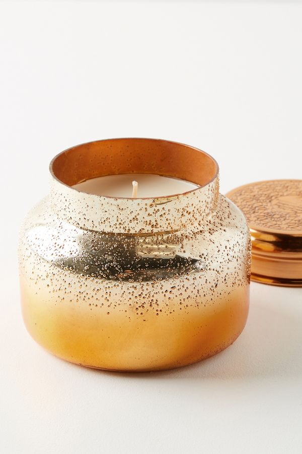 Slide View: 1: Capri Blue Pumpkin Clove Jar Candle
