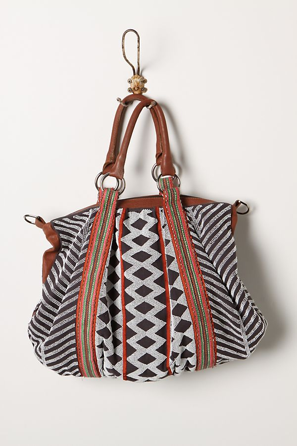 Beaded Geometry Bag