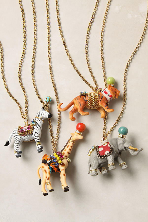 Party animal necklace anthropologie tap image to zoom aloadofball Image collections