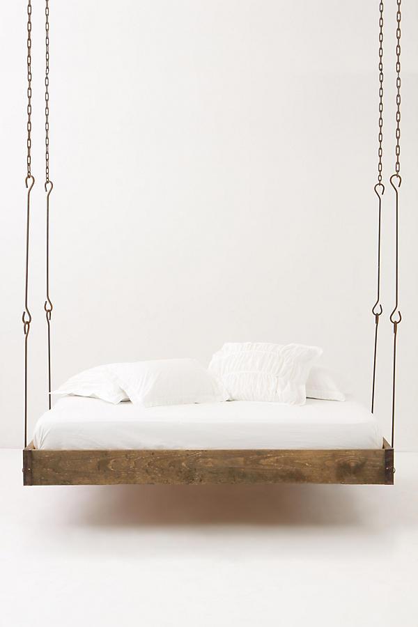 Barnwood Hanging Bed | Anthropologie