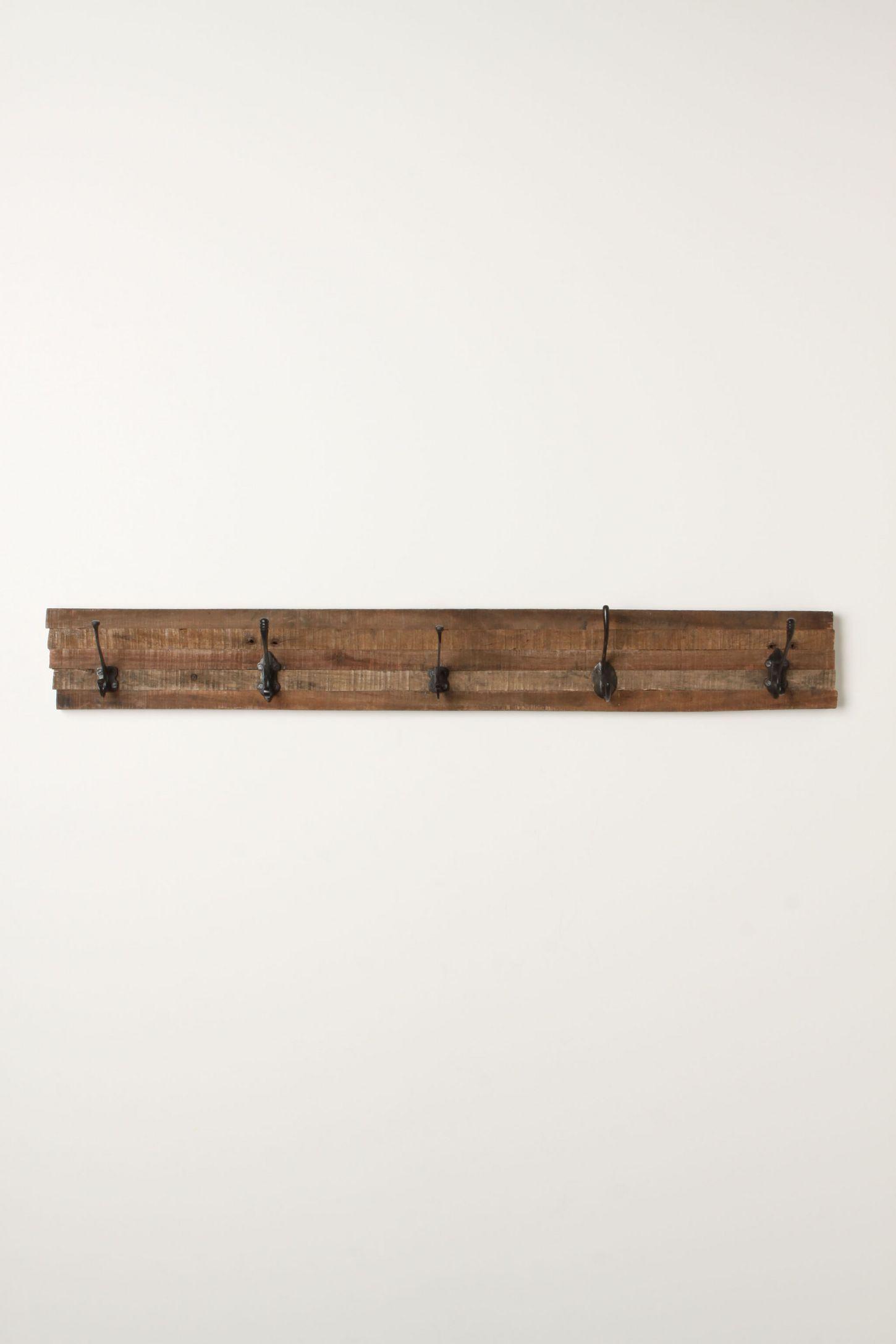 Shop decorative wall hooks coat hooks anthropologie schoolroom hook rack amipublicfo Images