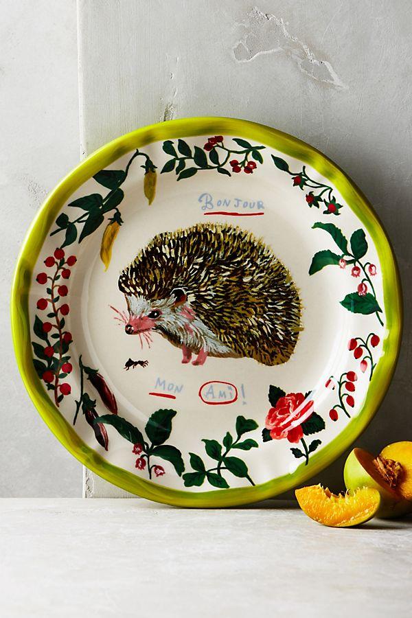 Francophile Dinner Plate Anthropologie