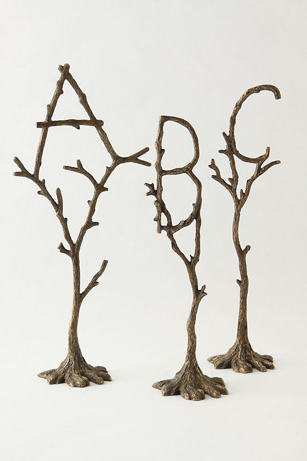Slide View: 2: Tree Monogram