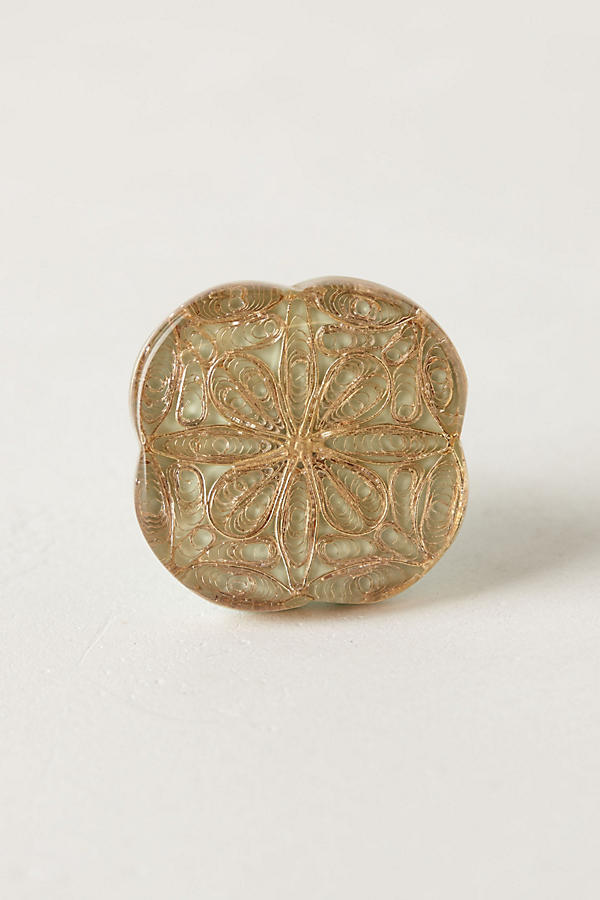 Slide View: 1: Inlaid Filigree Knob