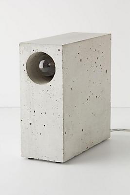 Beton Concrete Desk Lamp