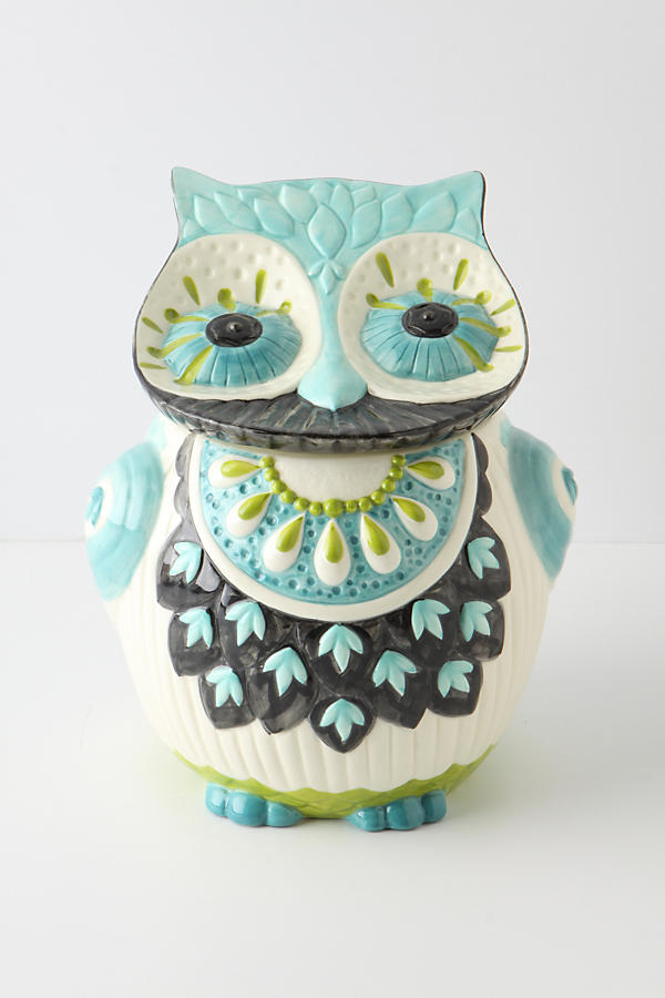 Slide View: 1: Bubo Cookie Jar
