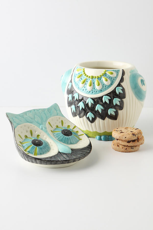 Slide View: 3: Bubo Cookie Jar