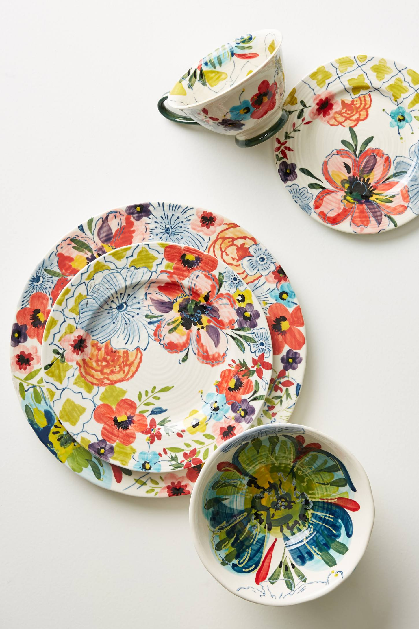 Slide View: 1: Sissinghurst Castle Dinner Plate