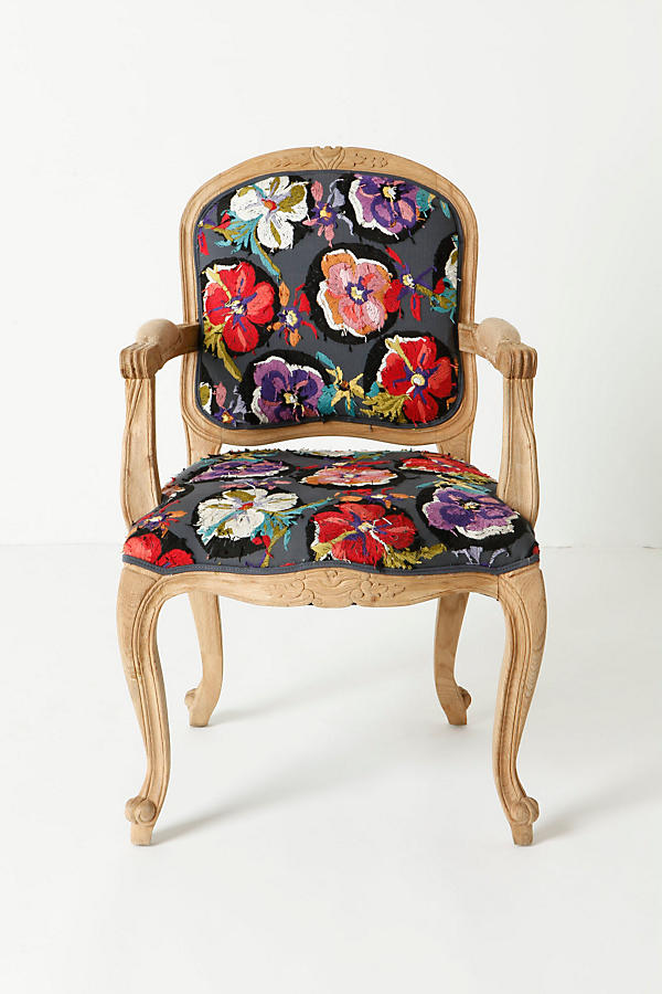 Slide View: 1: Grafton Chair, Flora Dora