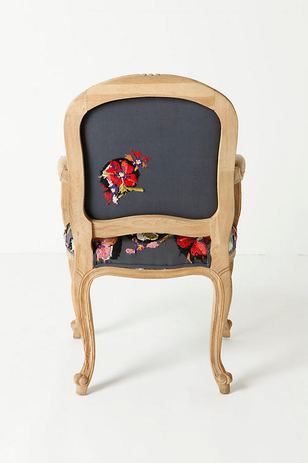 Slide View: 2: Grafton Chair, Flora Dora
