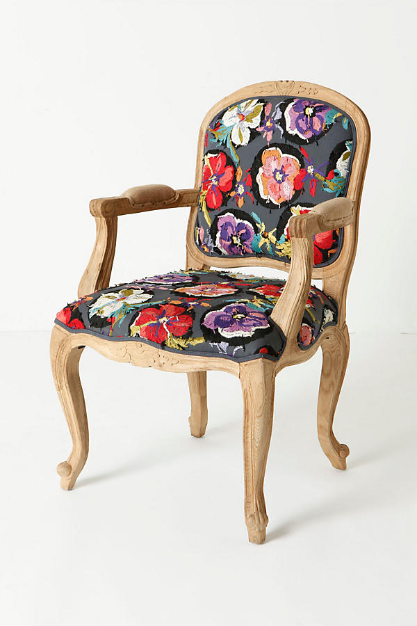 Slide View: 3: Grafton Chair, Flora Dora