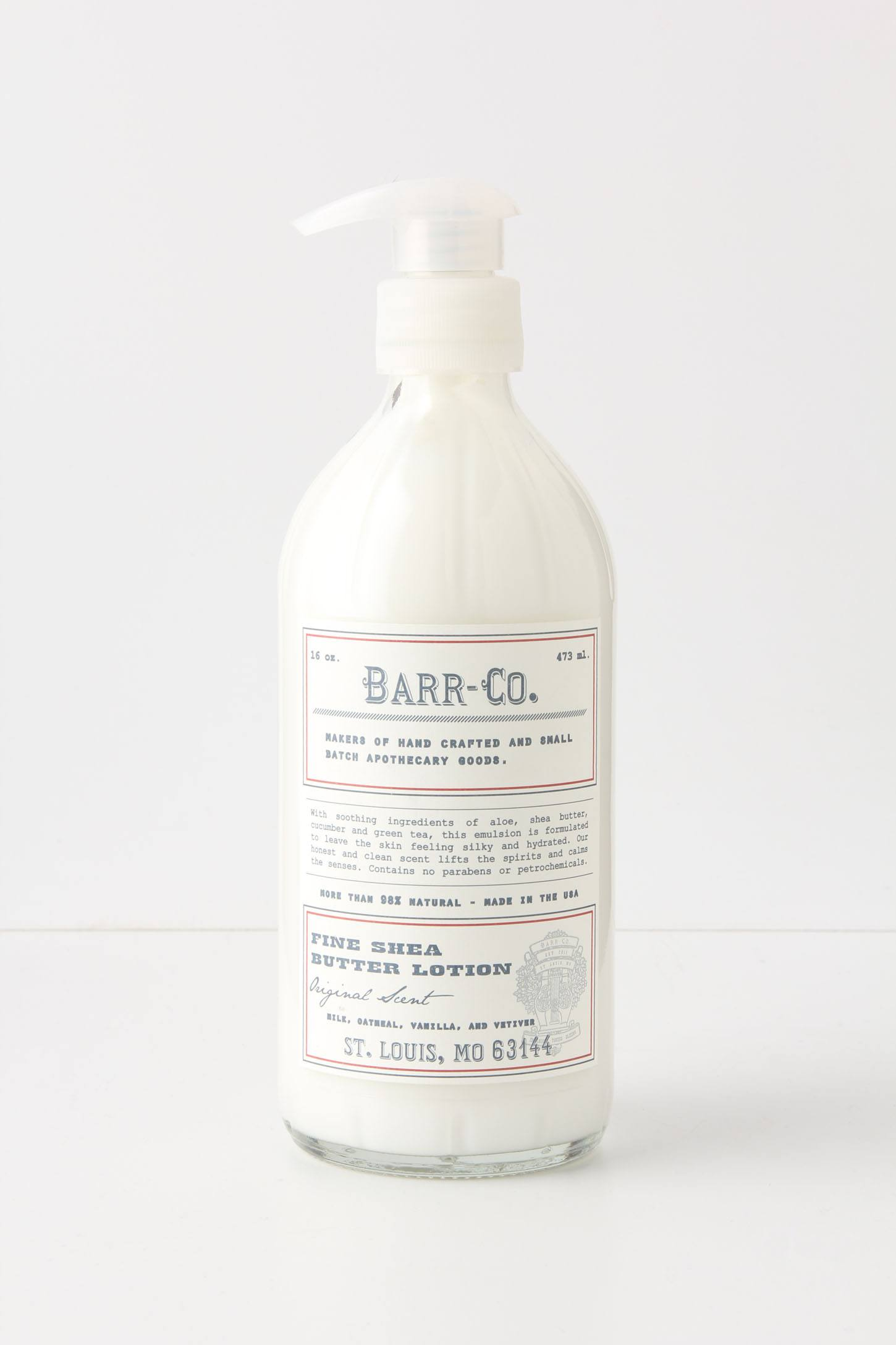 Barr-Co. Fine Shea Butter Lotion