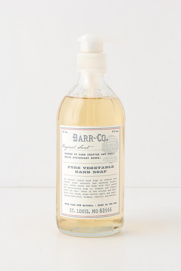 Slide View: 1: Barr-Co. Pure Vegetable Hand Soap