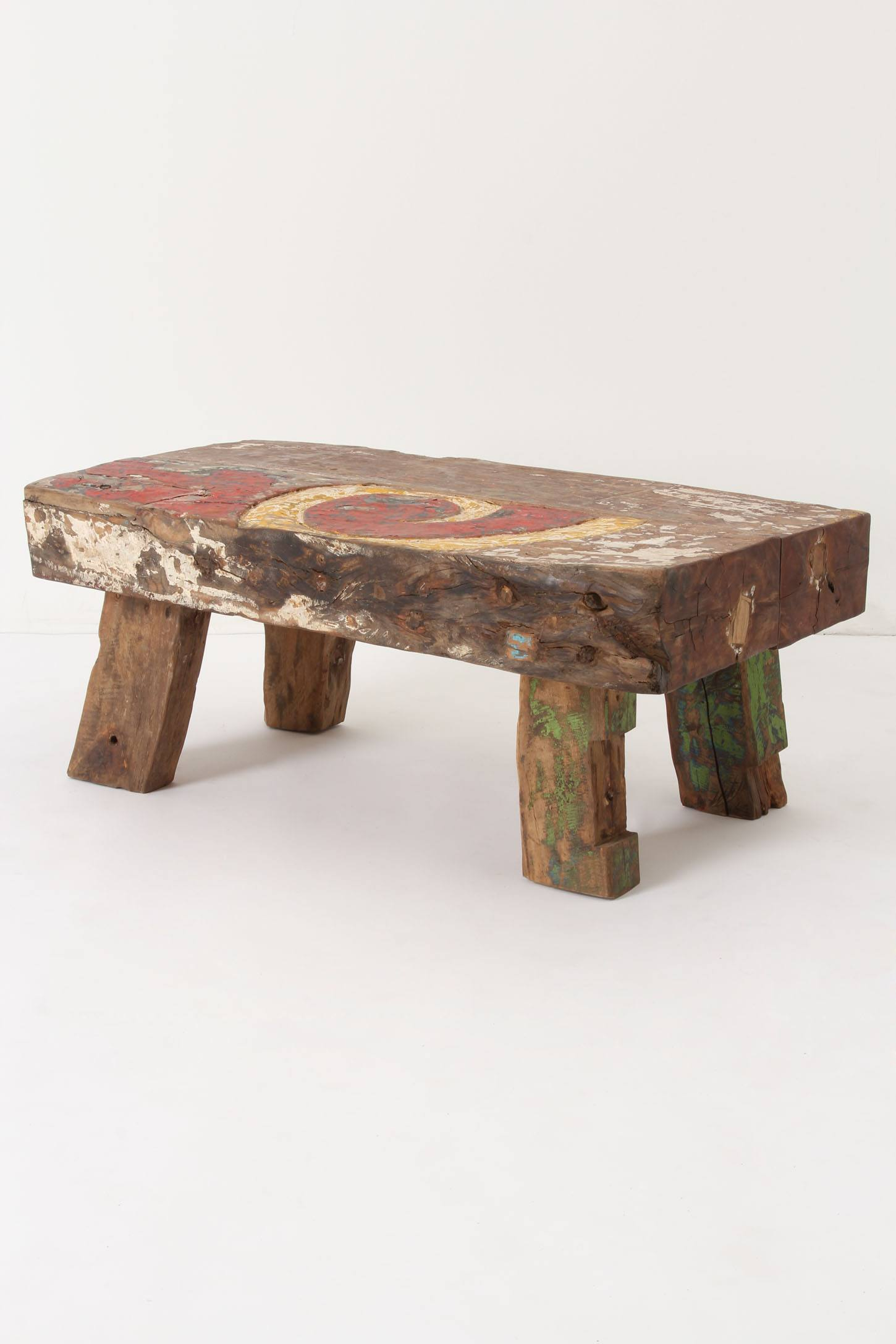 Slide View: 1: Reclaimed Boat Coffee Table