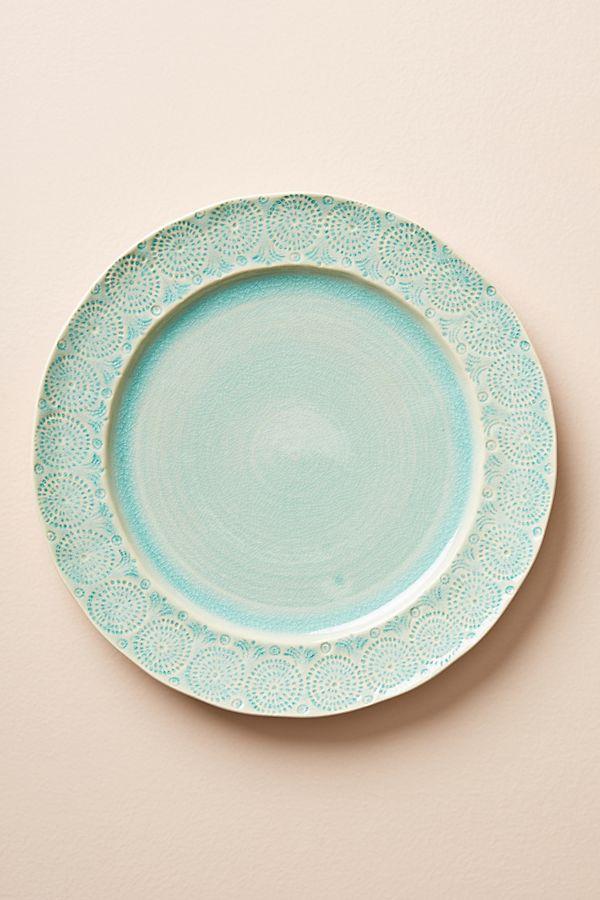 Old Havana Dinner Plate   Anthropologie