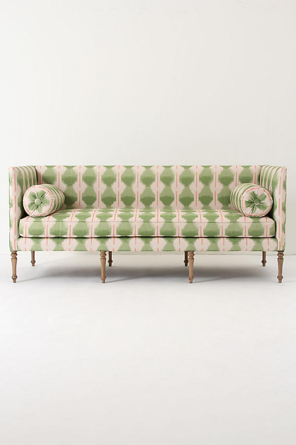 Slide View: 1: Ditte Sofa, Agave Ikat