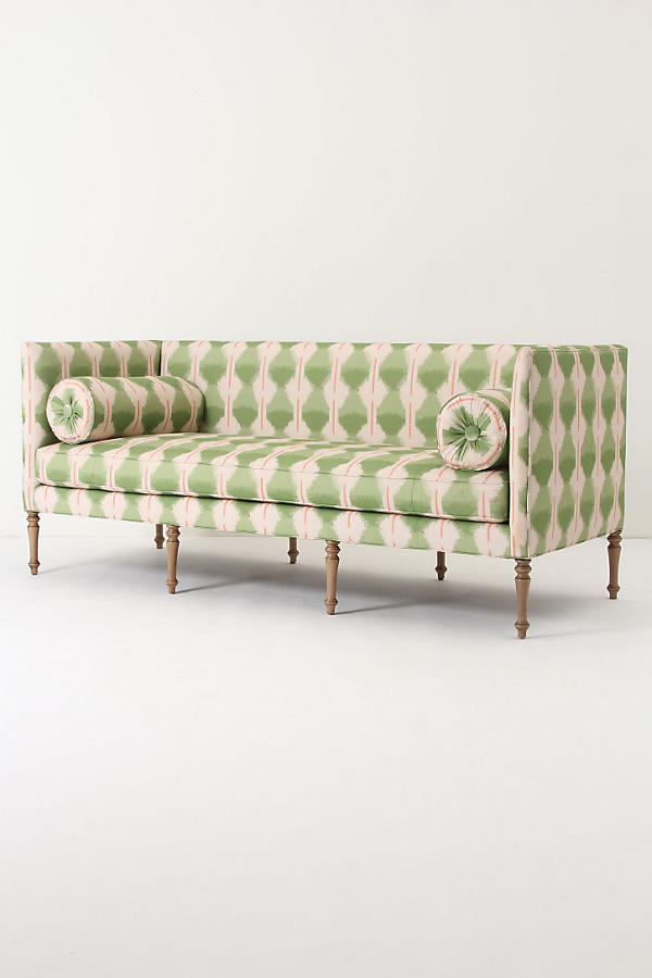 Slide View: 3: Ditte Sofa, Agave Ikat