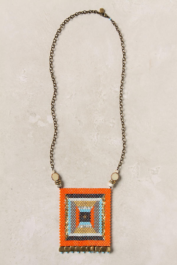 Slide View: 1: Banderole Beads Necklace