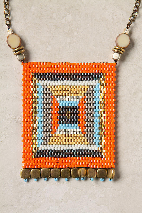 Slide View: 2: Banderole Beads Necklace