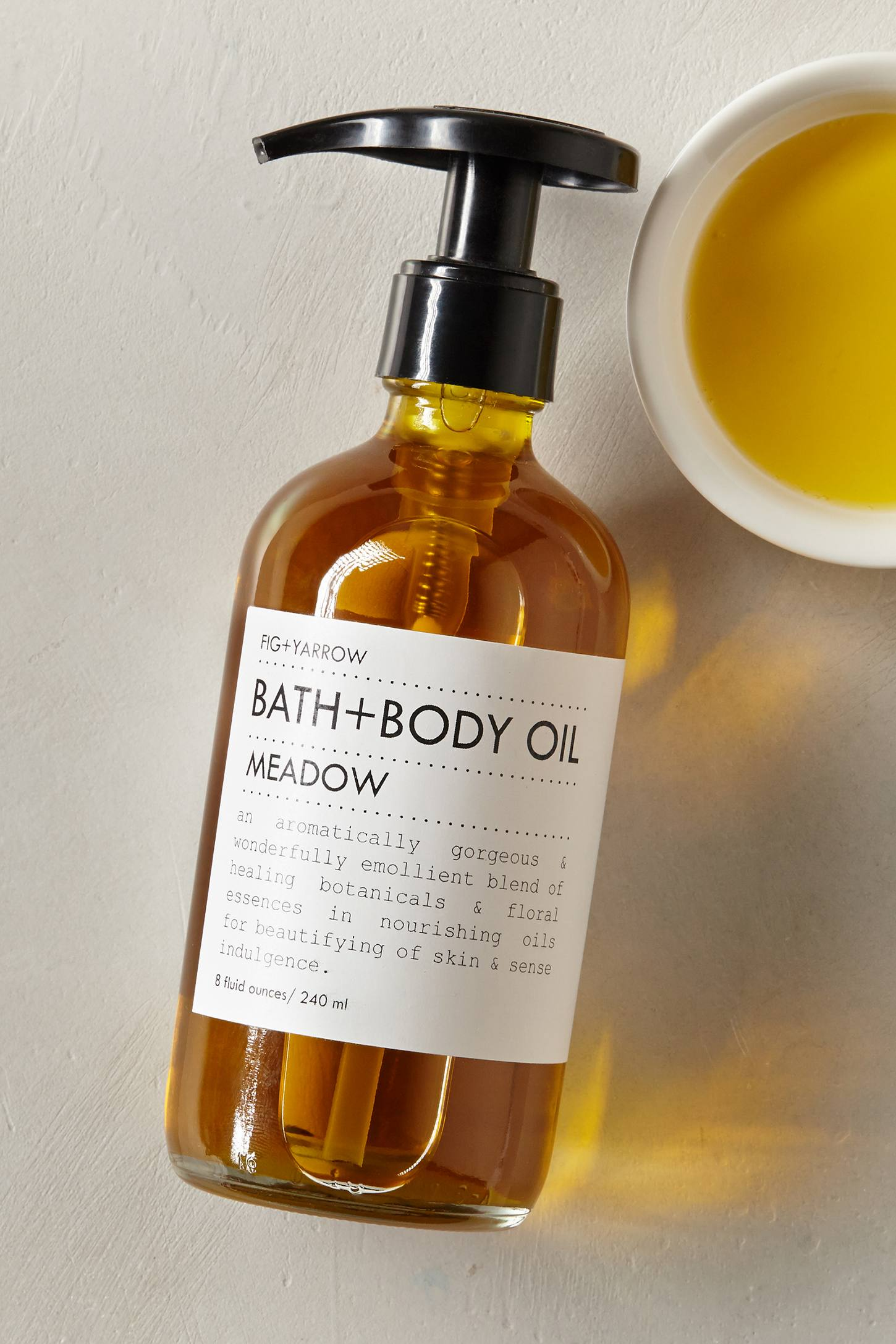 Fig + Yarrow Meadow Bath + Body Oil