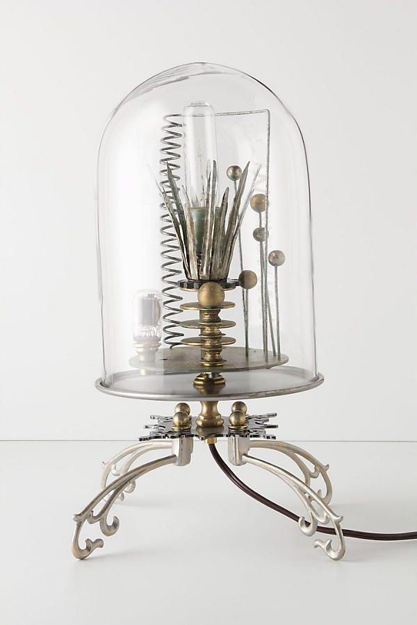 Kerplunk Bell Jar Lamp