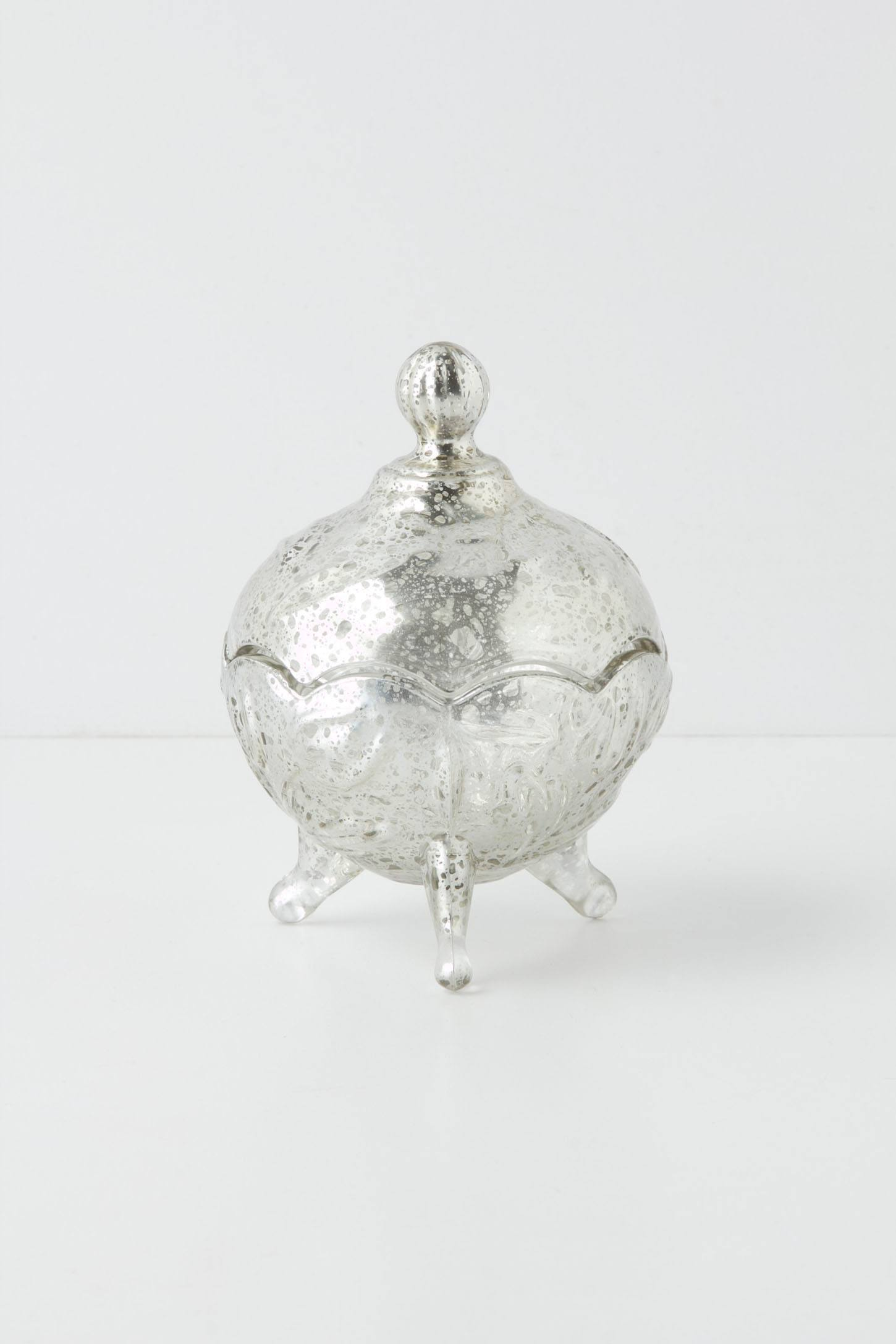 Mercury Glass Jar