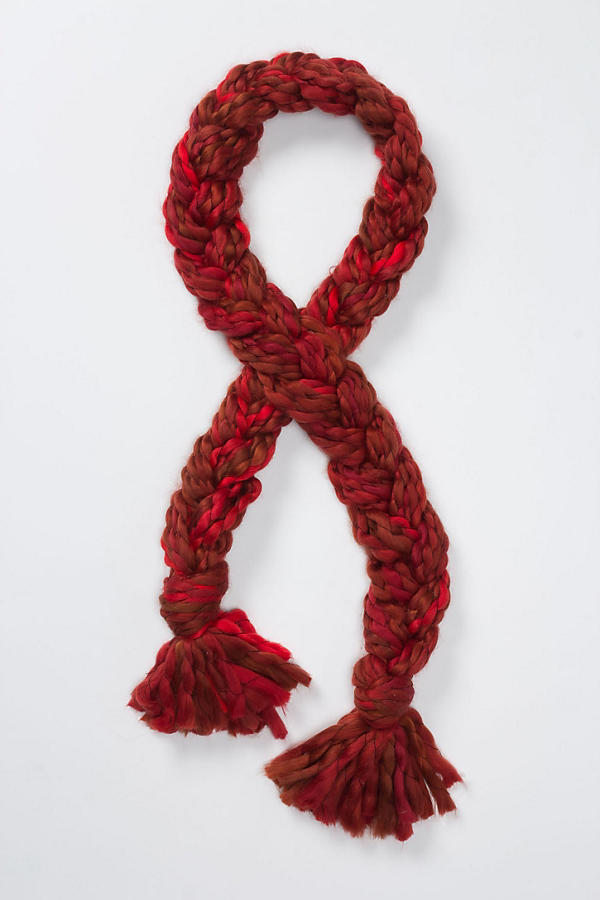Slide View: 1: Iznik Braided Scarf