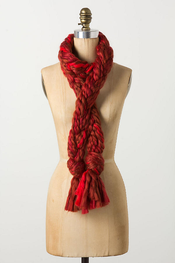 Slide View: 2: Iznik Braided Scarf