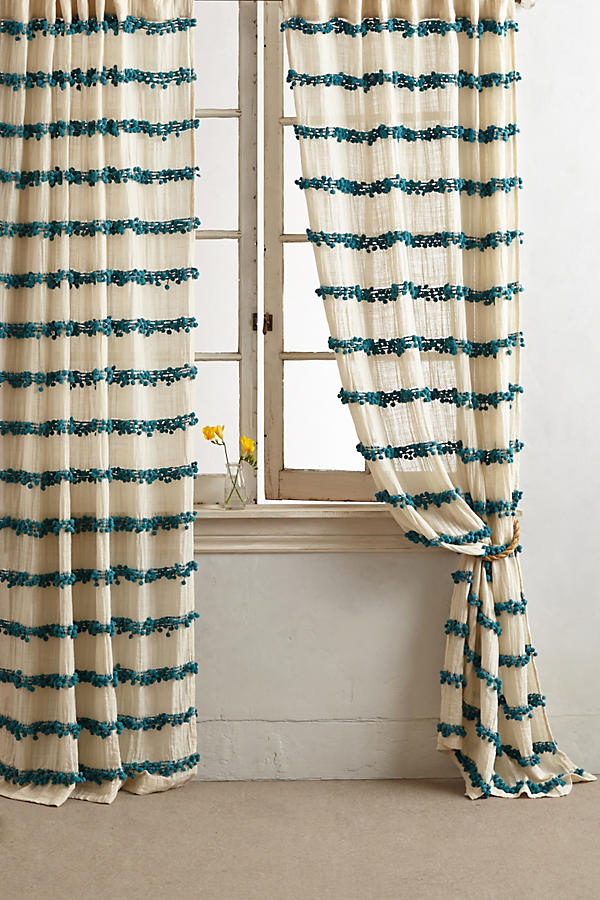 Slide View: 1: Swing Stripes Curtain