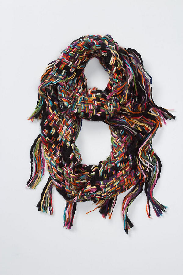 Slide View: 1: Paintbox Fringed Loop