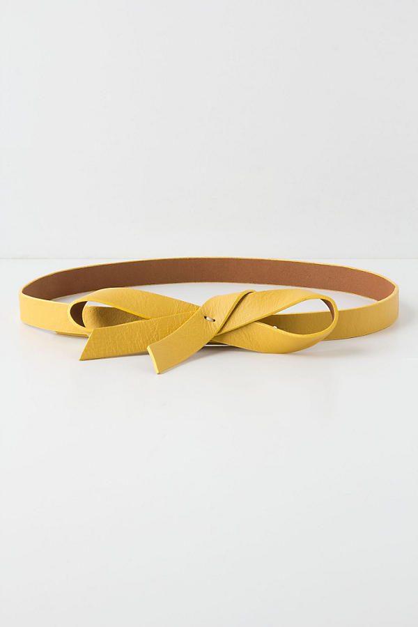Slouchy Bow Belt