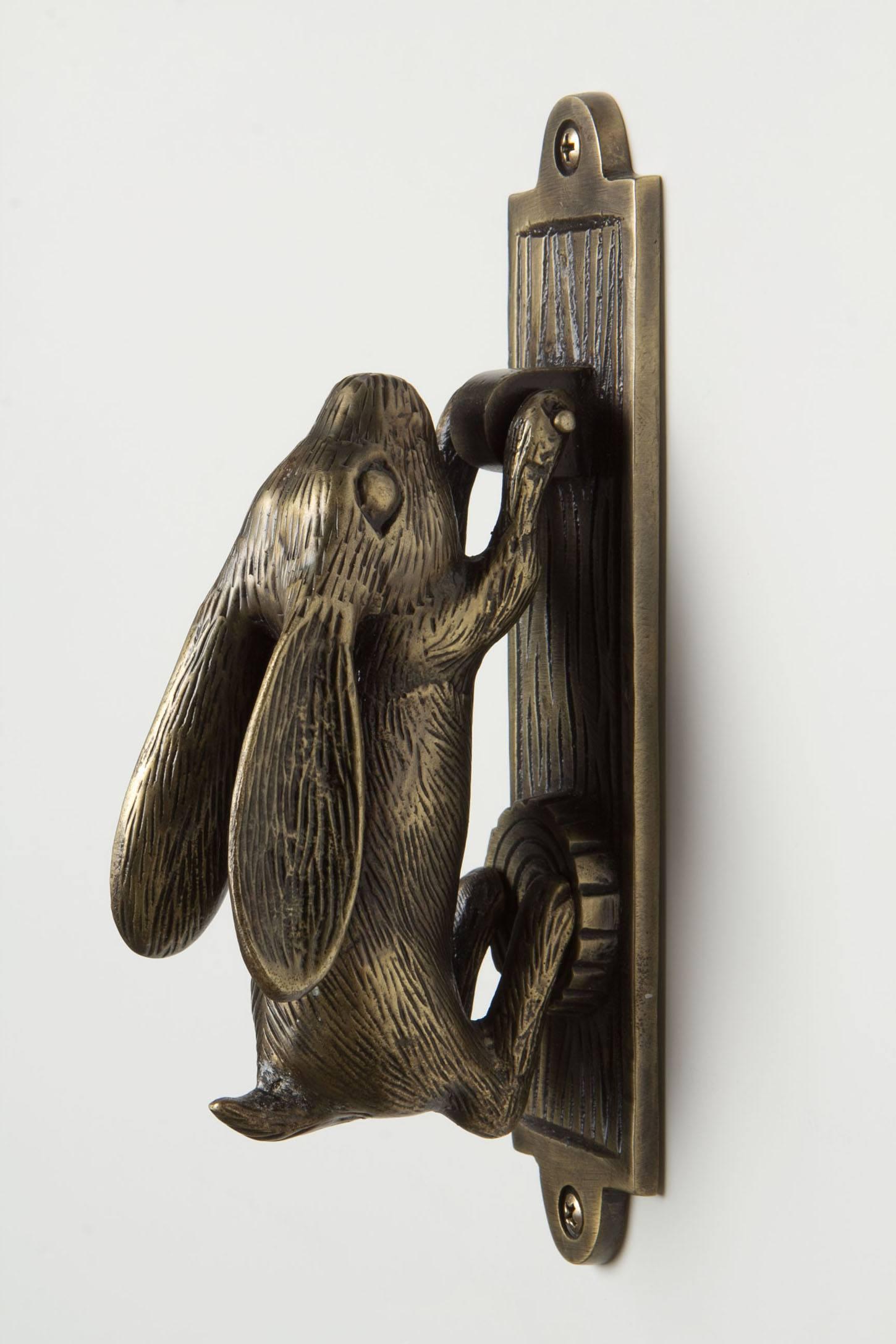 Swinging Hare Door Knocker Anthropologie