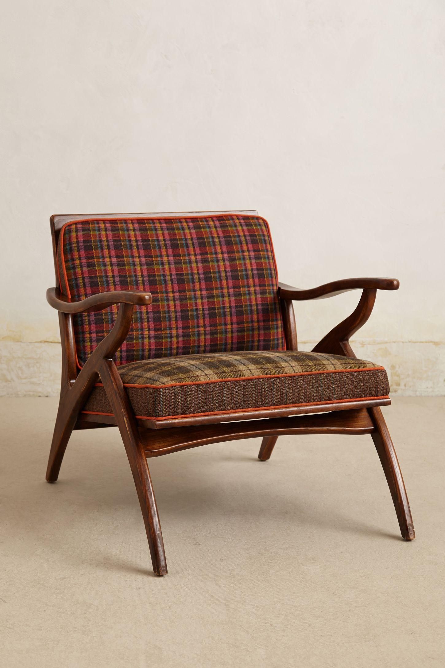 Inge Chair Plaid