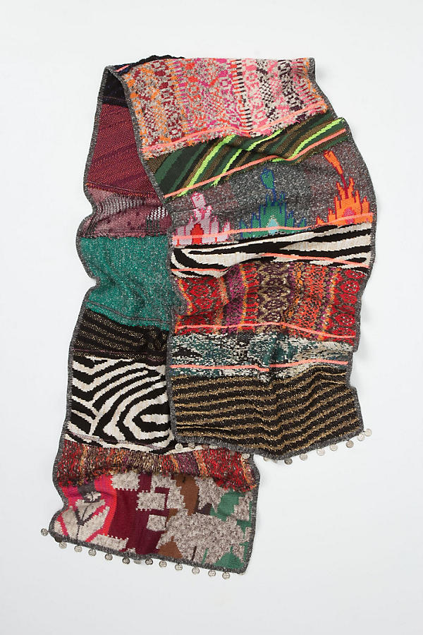 Sequence Patchwork Scarf