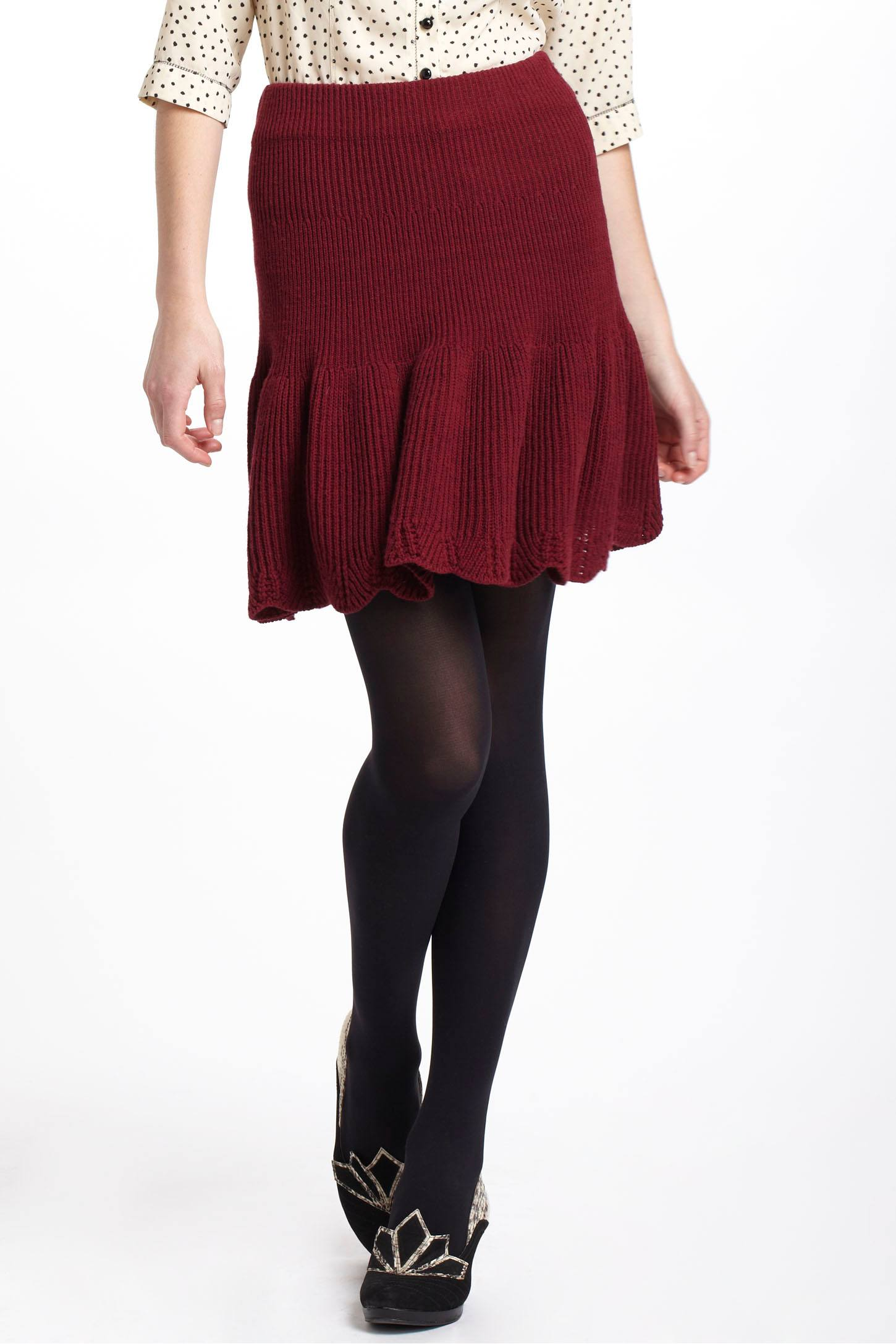 Spun Sweater Skirt