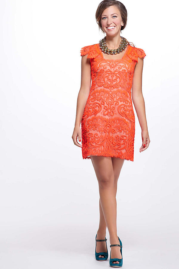 Slide View: 4: Sunblaze Lace Dress