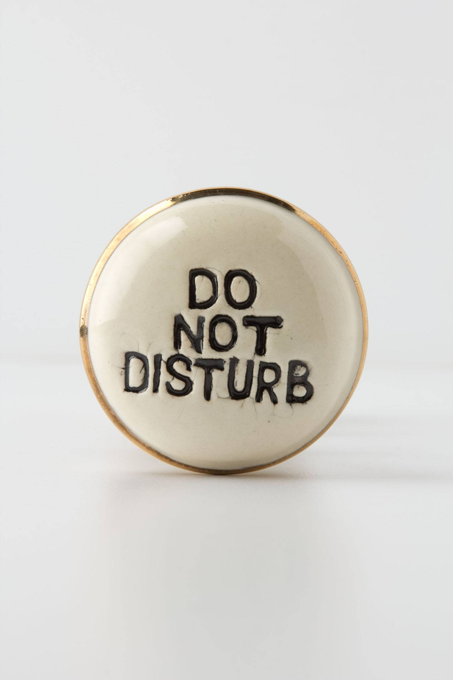 Do Not Disturb Doorknob