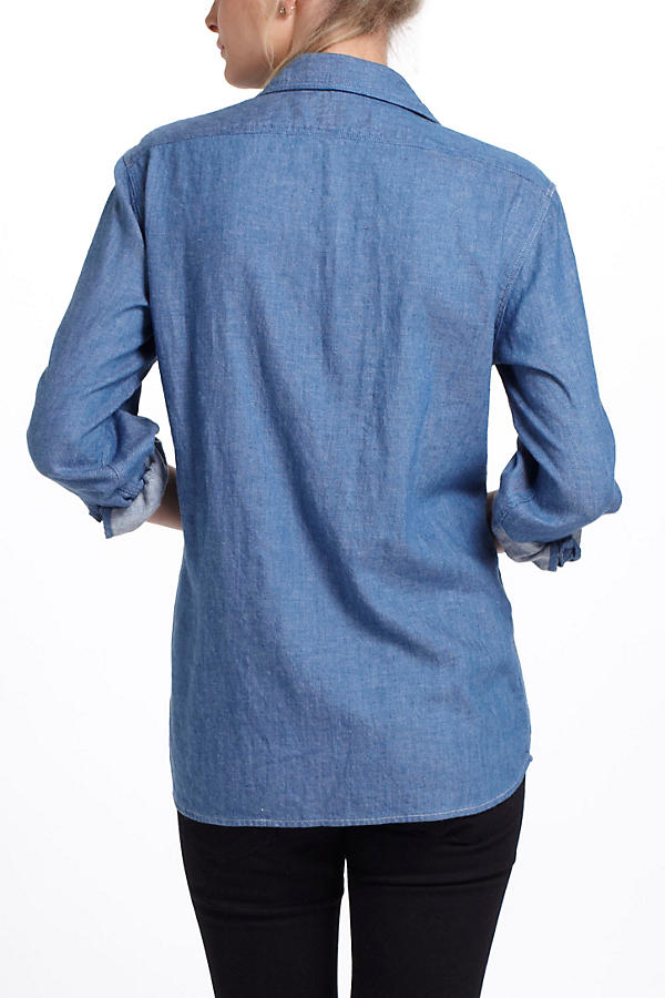 Slide View: 3: Chambray Work Shirt