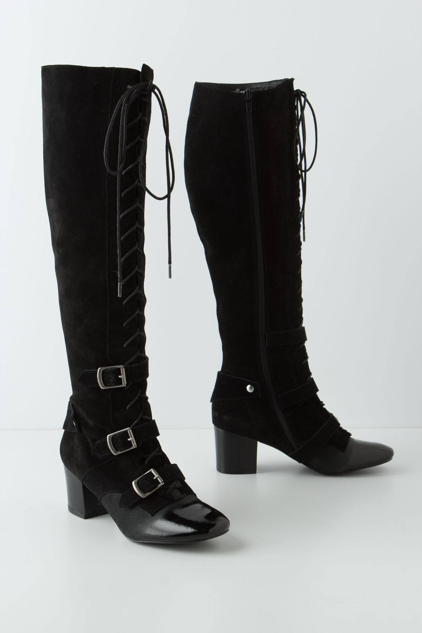 High-Tied Knee Boots