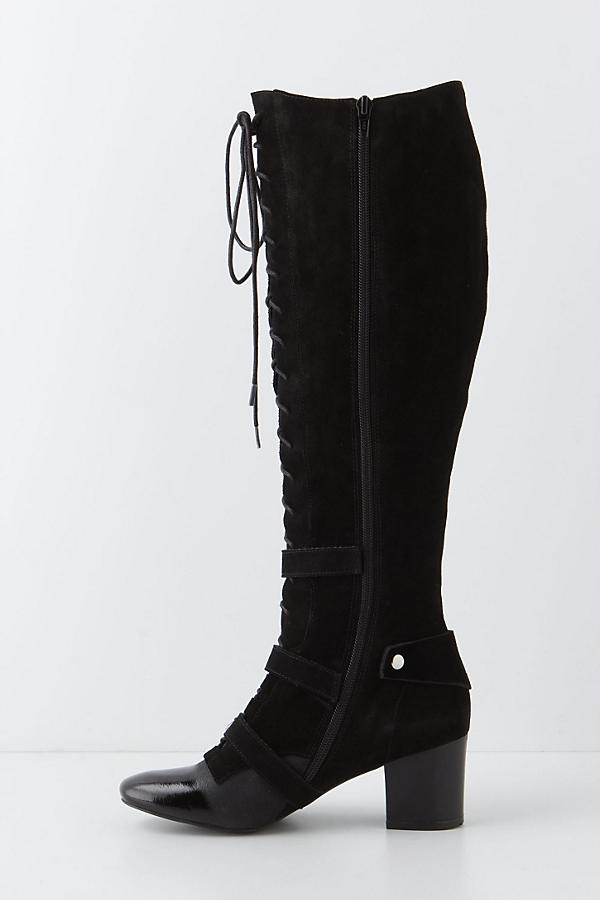 Slide View: 3: High-Tied Knee Boots
