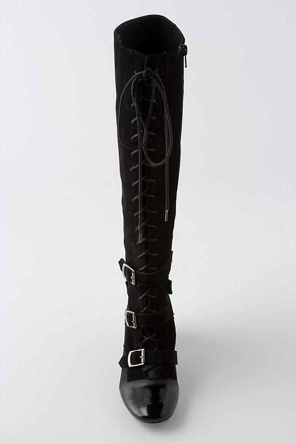 Slide View: 7: High-Tied Knee Boots