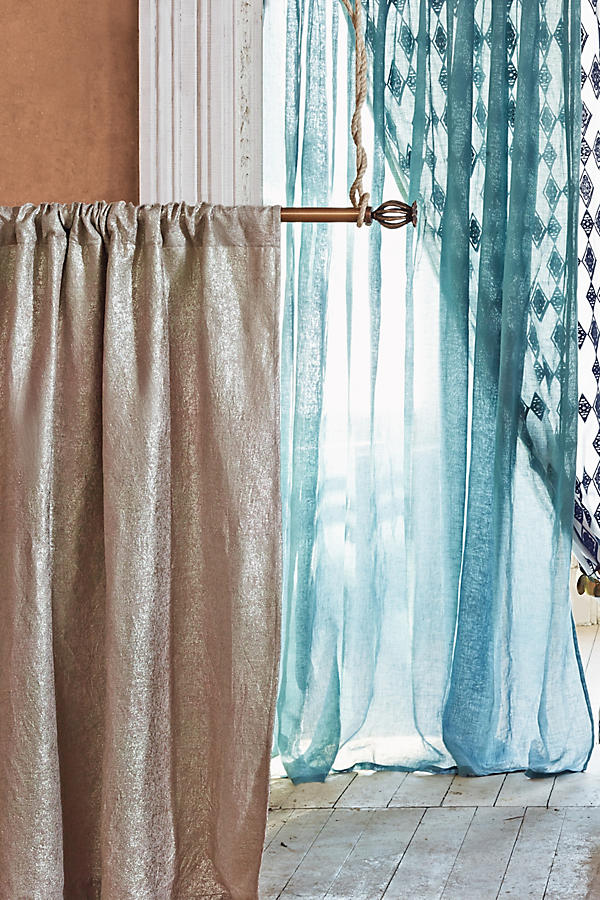 Slide View: 3: Gilded Waves Curtain