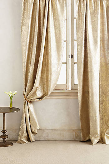 Gilded Waves Curtain