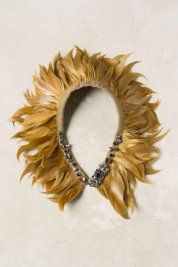 Slide View: 1: Lionfeather Collar