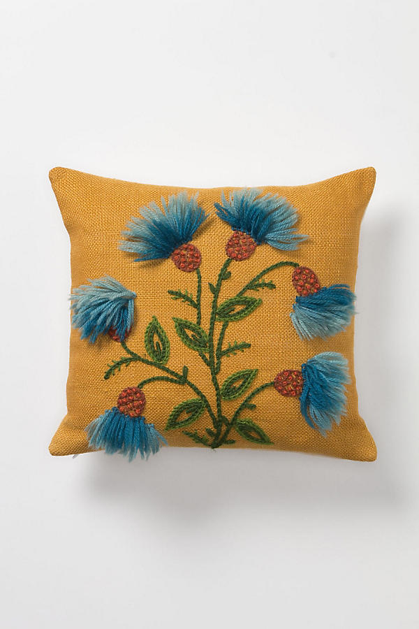 Downy Thistles Pillow