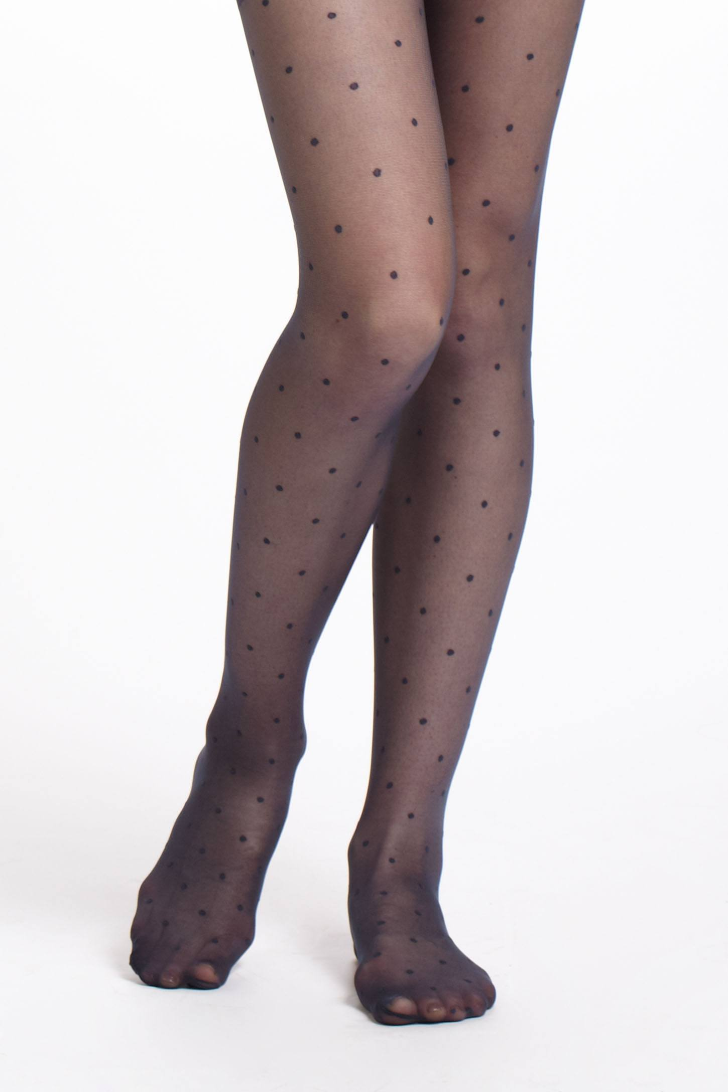 Sheer Swiss Dot Tights